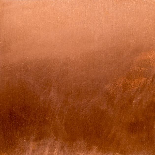 Blechzuschnitt, Kupfer, Stärke 0,60 mm