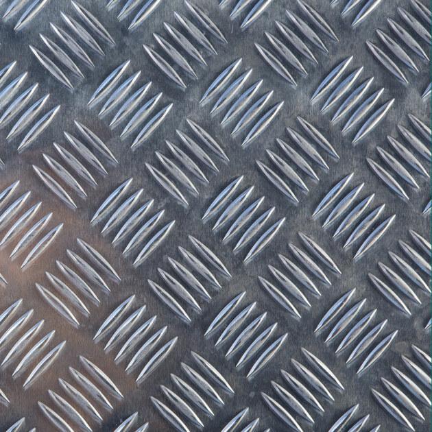 Blechzuschnitt, Aluminium Tränenblech Quintett 2/3,5