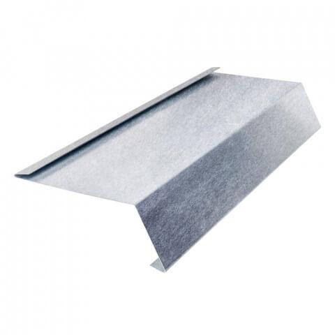 Traufblech mit Falz aus Aluminium