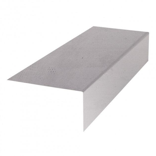 Unterblech für Mauerabdeckung (als L-Profil)