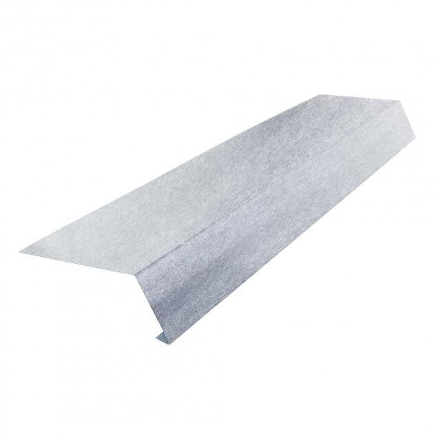 Traufblech ohne Falz aus Aluminium